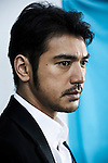CANNES, FRANCE. MAY 14, 2011. Wu Xia's actor Takeshi Kaneshiro at the Cannes Film Festival. (Photo: Antoine Doyen)
