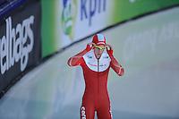 SCHAATSEN: GRONINGEN: Sportcentrum Kardinge, 17-01-2015, KPN NK Sprint, Marrit Leenstra, ©foto Martin de Jong