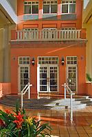 El Conquistador Resort, Hotel, Entrance, Vertical,  Las Croabas, Fajardo, Puerto Rico, USA