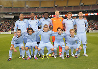 Sporting Kansas City Starting Eleven. Sporting Kansas City defeated D.C. United  1-0 at RFK Stadium, Saturday March 10, 2012.