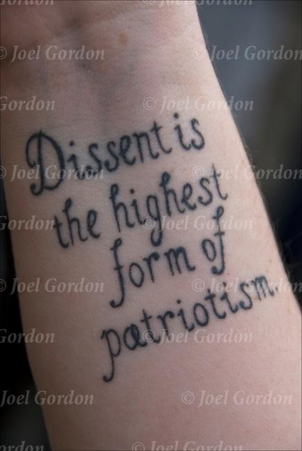 Thomas Jefferson Dissent Quote