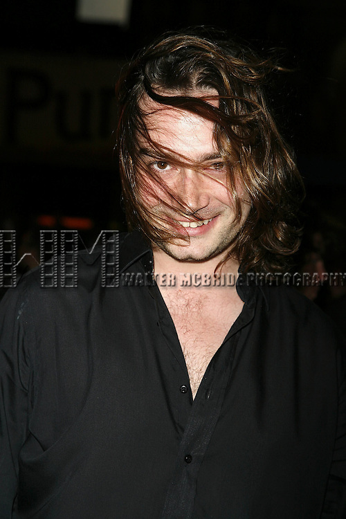Constantine Maroulis attending the Opening Night of Warner Bros. Theatre Ventures' Inaugural production of LESTAT at the Palace Theatre with an after party at Time Warner Center in New York City. April 25, 2006.© Walter McBride/WM Photography