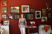 Art and Crafts Gallery and School Classes, Workshops, Seminars, handmade Gifts. Samples of my work currently on display. Heike Jost proprietor.