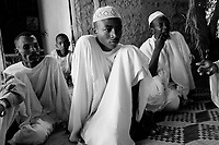 North Darfur, August 23, 2004.An 'Arab' village near Kutum. Many men from this village are said to be Janjaweed.