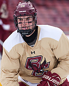 Mike Merulla (BC - 20) - The Boston College Eagles practiced at Fenway on Friday, January 6, 2017, in Boston, Massachusetts.