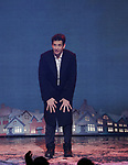 Andy Karl during the Broadway Opening Night Curtain Call Bows for 'Groundhog Day' at August Wilson Theatre on April 17, 2017 in New York City.
