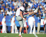 Ole Miss' Tyler Campbell (97) vs. Kentucky at Commonwealth Stadium in Lexington, Ky. on Saturday, November 5, 2011. ..