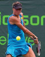 Yanina WICKMAYER (BEL) against Elena BALTaCHA (GBR) in the second round of the women's singles. Wickmayer beat Baltacha 6-1 6-3..International Tennis - 2010 ATP World Tour - Sony Ericsson Open - Crandon Park Tennis Center - Key Biscayne - Miami - Florida - USA - Thurs  25 Mar 2010..© Frey - Amn Images, Level 1, Barry House, 20-22 Worple Road, London, SW19 4DH, UK .Tel - +44 20 8947 0100.Fax -+44 20 8947 0117
