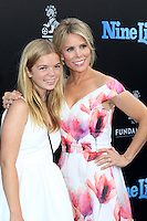 HOLLYWOOD, CA - AUGUST 01: Catherine Rose Young, Cheryl Hines at the film premiere for 'Nine Lives' at the TCL Chinese Theatre on August 1, 2016 in Hollywood, California. Credit: David Edwards/MediaPunch