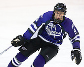 Paul Zanette (Niagara - 9) scored two of Niagara's goals and earned a primary assist on another. - The visiting Niagara University Purple Eagles defeated the Northeastern University Huskies 4-1 on Friday, November 5, 2010, at Matthews Arena in Boston, Massachusetts.
