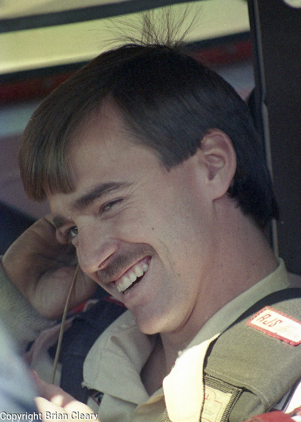 Clifford Allison ARCA driver Busch Series Driver  at Daytona International Speedway on February 19, 1989.  (Photo by Brian Cleary/www.bcpix.xom)