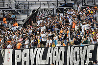 Orlando, FL - Saturday Jan. 21, 2017: Corinthians fans during the first half of the Florida Cup Championship match between São Paulo and Corinthians at Bright House Networks Stadium.