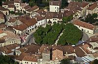 Europe/France/Midi-Pyrénées/32/Gers/Fources: La bastide - Vue aérienne