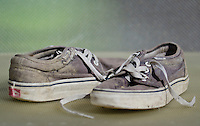 Worn Pair of Vans Trainers - Mar 2012