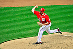 28 May 2011: Washington Nationals pitcher Todd Coffey on the mound against the San Diego Padres at Nationals Park in Washington, District of Columbia. The Padres defeated the Nationals 2-1 to even their 3-game series. Mandatory Credit: Ed Wolfstein Photo