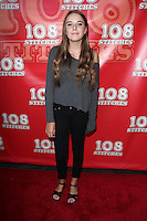 Annabelle Negron<br /> &quot;108 Stitches&quot; World Premiere, Harmony Gold, Los Angeles, CA 09-10-14<br /> David Edwards/DailyCeleb.com 818-249-4998