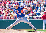 13 March 2014: New York Mets pitcher Daisuke Matsuzaka on the mound during a Spring Training game against the Washington Nationals at Space Coast Stadium in Viera, Florida. The Mets defeated the Nationals 7-5 in Grapefruit League play. Mandatory Credit: Ed Wolfstein Photo *** RAW (NEF) Image File Available ***