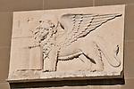 The lion of Bergamo, Italy