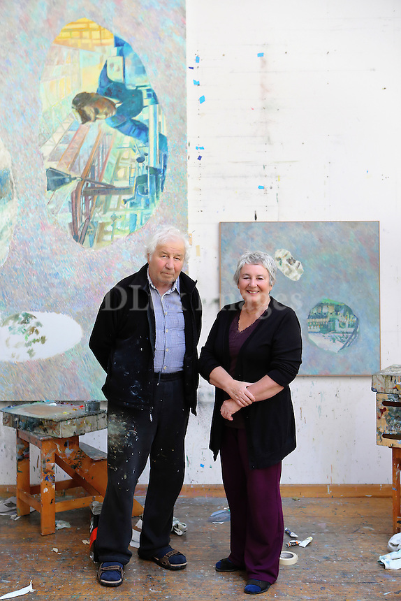 Emilia & Ilya Kabakov's portrait