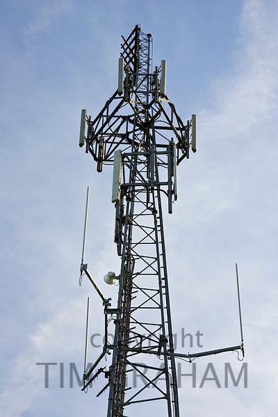 Mobile phone mast, Gloucestershire, United Kingdom