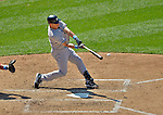 17 June 2012: New York Yankees first baseman Mark Teixeira in action against the Washington Nationals at Nationals Park in Washington, DC. The Yankees defeated the Nationals 4-1 to sweep their 3-game series. Mandatory Credit: Ed Wolfstein Photo