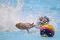 Hirofumi Funazaki (Bourbon), SEPTEMBER 30, 2011 - Water Polo : Water Polo Japan Challenge 2011 Men's Competition Keiogijuku - Bourbon Water Polo Club Kashiwazaki at Tatsumi International Swimming Pool, Tokyo, Japan. (Photo by YUTAKA/AFLO SPORT) [1040]