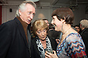 London, UK. 24.02.2014. Actor, Peter Land, Dame Gillian Lynne, and Diane Samuels (writer of the book) at the after party for press night of The A to Z of Mrs P, which premieres at Southwark Playhouse. © Jane Hobson.