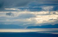 Morning light over Nelson Bay, New Zealand