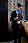 Twitter and Square founder Jack Dorsey, photographed at Sightglass Coffee Roasters in San Francisco