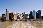 New York City, New York: Skyline of New York lower manhattan post 9-11.  .Photo #: ny214-14805  .Photo copyright Lee Foster, www.fostertravel.com, lee@fostertravel.com, 510-549-2202.