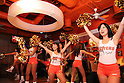 FILE- Tokyo, Japan - Oct. 22 : Hooters Tokyo celeberates their first anniversary in Akasaka.