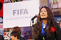 Homare Sawa (JPN), DECEMBER 27, 2011 - Football / Soccer : Homare Sawa of Japan speeachs during Celebration party for FIFA Women's World Cup Champion at Tokyo Dome City in Tokyo, Japan. (Photo by Yusuke Nakanishi/AFLO SPORT) [1090]