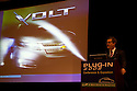 Jonathan Lauckner, Vice President, Global Program Management, General Motors Corporation (GM). Opening day of the July 22-24 inaugural Plug-In 2008 Conference & Exposition: A Short Drive to Tomorrow in San Jose, CA. The event showcases the latest technological advances, market research and policy initiatives shaping the future of plug-in hybrid electric vehicles (PHEVs). Original photo is high-resolution (4368 x 2912 pixels).