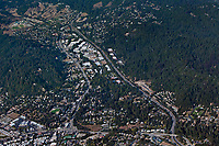 aerial photograph Scotts Valley, Santa Cruz county, CA