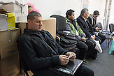Anatolij went to the Civic assistance commitee to seek material help. He got rejected.