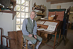Cabinet maker's workshop in Colonial Williamsburg, Virginia.