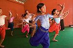 Cambodia Apsara dancing girl