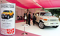 November 5th, 2011 : Tokyo, Japan &ndash; OFFICIAL CAR as a white canvas is displayed during 2011 Tokyo Designers Week. It is held in Meiji Jingu Gaien, from November 1st to 6th. The theme of this year is &ldquo;Love/ARIGATO&rdquo;. Designers, artists, and organizations express their ideas and their creative works such as contemporary art, music, unique goods and workshops during this show. (Photo by Yumeto Yamazaki/AFLO)