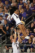 Sept 01, 2012:  Washington cheerleader Karissa Fogel against San Diego State.  Washington defeated San Diego State 21-12 at CenturyLink Field in Seattle, Washington...