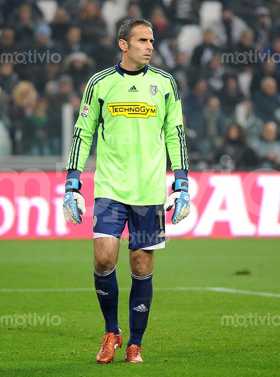 FUSSBALL INTERNATIONAL   SERIE A   SAISON 2011/2012    Juventus Turin - AC Cesena 04.12.2011 Francesco Antonioli  (AC Cesena)