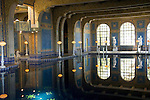 California, San Luis Obispo County: Hearst Castle State Park, formerly the palatial hillside home of publisher William Randoph Hearst. Indoor pool..Photo caluis218-70963..Photo copyright Lee Foster, www.fostertravel.com, 510-549-2202, lee@fostertravel.com