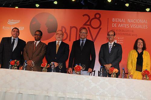Gamal Michelén, Odalís Pérez, Manolo Hauzoury José Antonio Rodríguez, Carlos Santos Durán y Michélle Dalmace integraron la mesa de honor.
