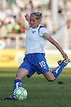 01 Aug 2009: Kelly Smith (10) of the Breakers.  Saint Louis Athletica defeated the visiting Boston Breakers 1-0 in a regular season Women's Professional Soccer game at Anheuser-Busch Soccer Park, in Fenton, MO.