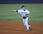 Ole Miss' Alex Yarbrough vs. Mississippi State at Oxford-University Stadium in Oxford, Miss. on Thursday, May 12, 2011. Mississippi State won 7-6. (AP Photo/Oxford Eagle, Bruce Newman)