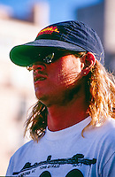 Brad Gerlach (USA) at Biarritz in the south west corner of France. circa 1990 Photo: joliphotos.com