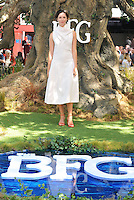 Rebecca Hall at the &quot;The BFG&quot; UK film premiere, Odeon Leicester Square cinema, Leicester Square, London, England, UK, on Sunday 17 July 2016.<br /> CAP/CAN<br /> &copy;CAN/Capital Pictures /MediaPunch ***NORTH AND SOUTH AMERICAS ONLY***