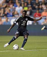 Eddie Johnson.  The MLS All-Stars defeated Chelsea, 3-2.