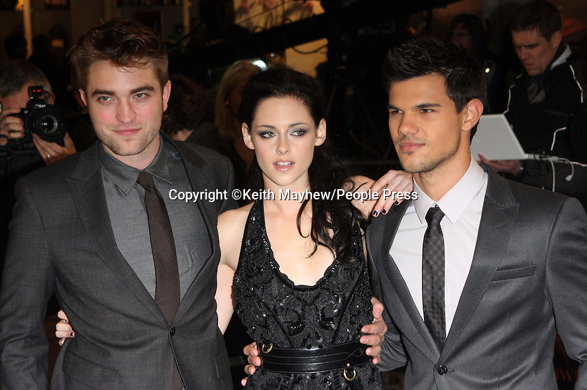 London - UK Premiere of 'Twilight Breaking Dawn Part One' at Westfield Stratford City, London - November 16th 2011..Photo by Keith Mayhew