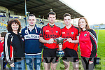 The O'Leary family Kenmare  Moira, Patrick, Alan, Sean and Sharon O'Leary celebrate winning  the County Intermediate Championship final against Templenoe in Fitzgerald Stadium on Sunday