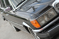 mb 450 sel front side view
